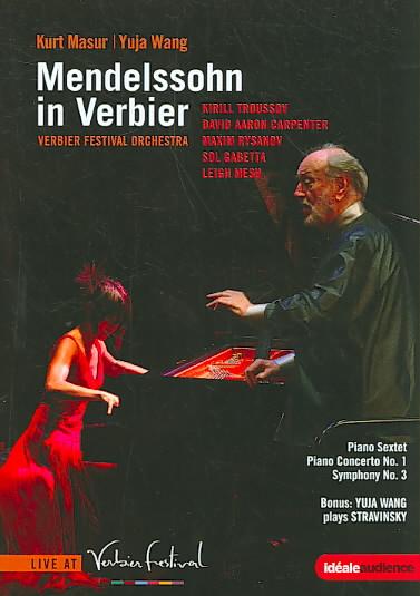 MENDELSSOHN:MENDELSSOHN IN VERBIER PI BY VERBIER FESTIVAL ORC (DVD)